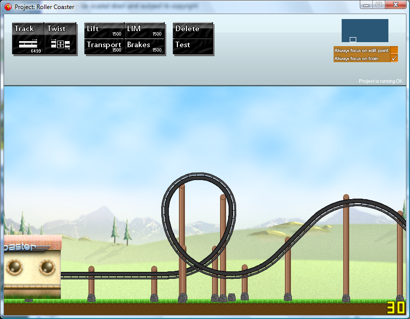 build a roller coaster games